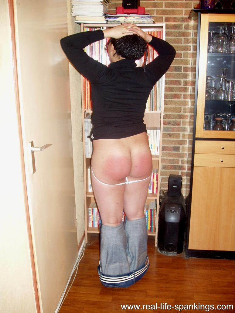 Otk bare bottom hand spanking videos
