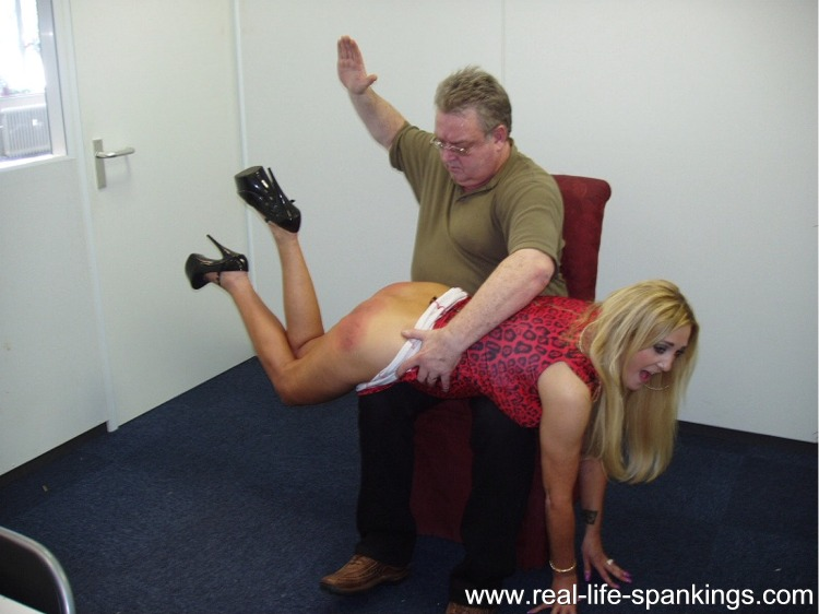 image Girls school spanking part 1