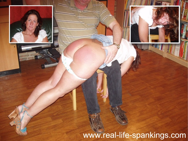 I spank my wife otk daily amusing