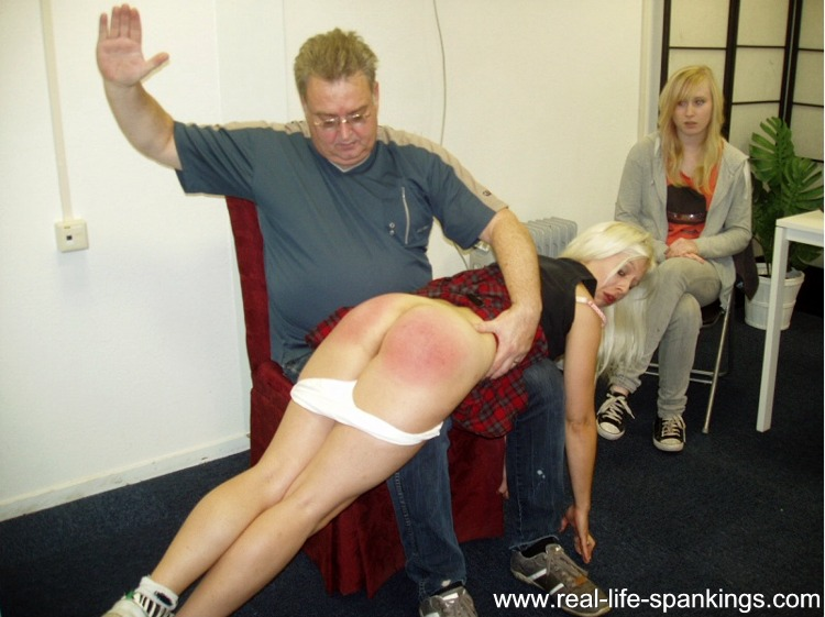 One Way to Give a Hard Spanking -