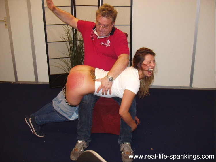 Remarkable Pictures of ladies being spanked