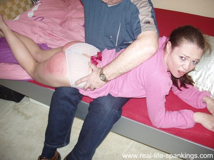 Littel Spank Bottom Her
